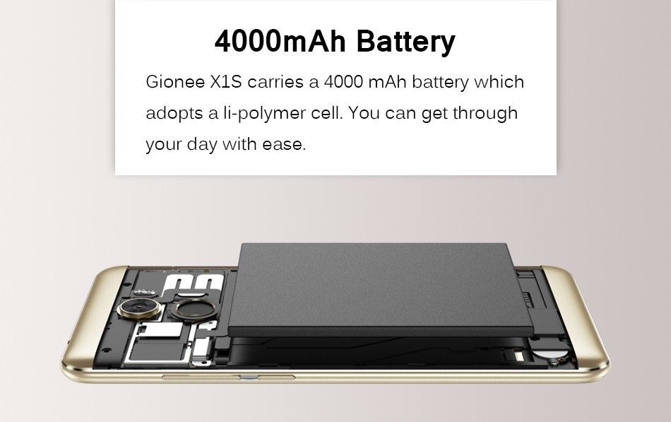 e88b5c56ce2e9e5ea6a74ab8011adb73 Gionee Gionee X1S 5.2HD Mobile Phone MTK6737T 1.5GHz Quad Core 3G RAM+32G ROM 4000mAh 16MP+13MP Dual Cameras Android 7.0 Dual Sim Smartphone  Blue