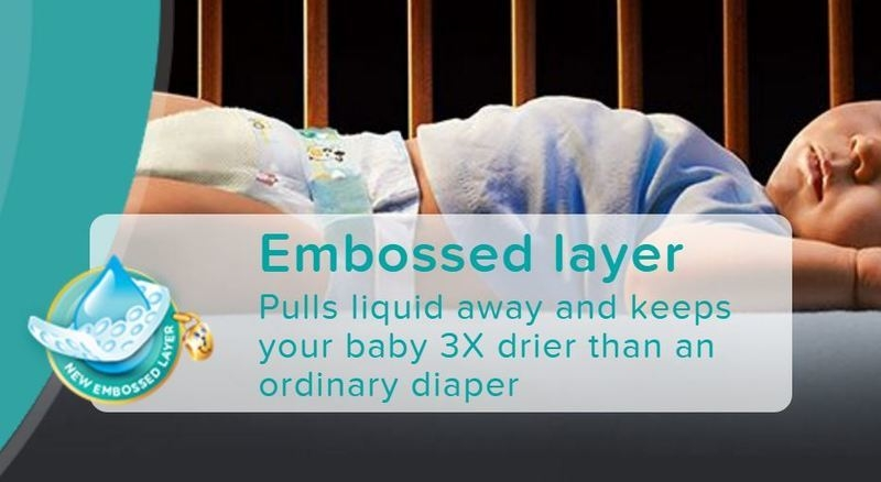 Pampers Baby Dry Diapers, Size 3, Carry Pack (9 Count) price in nigeria