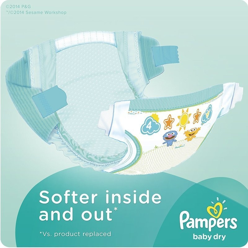 Pampers Baby Dry Diapers, Size 3, Value Promo Pack (40 Count) price in nigeria