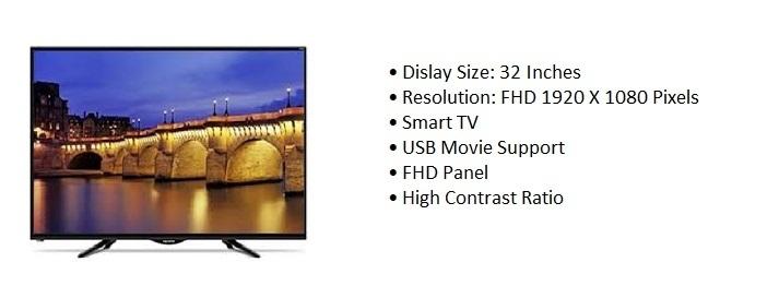 Polystar 32 Inch PV GLHD3215DVT Smart LED TV price in Nigeria