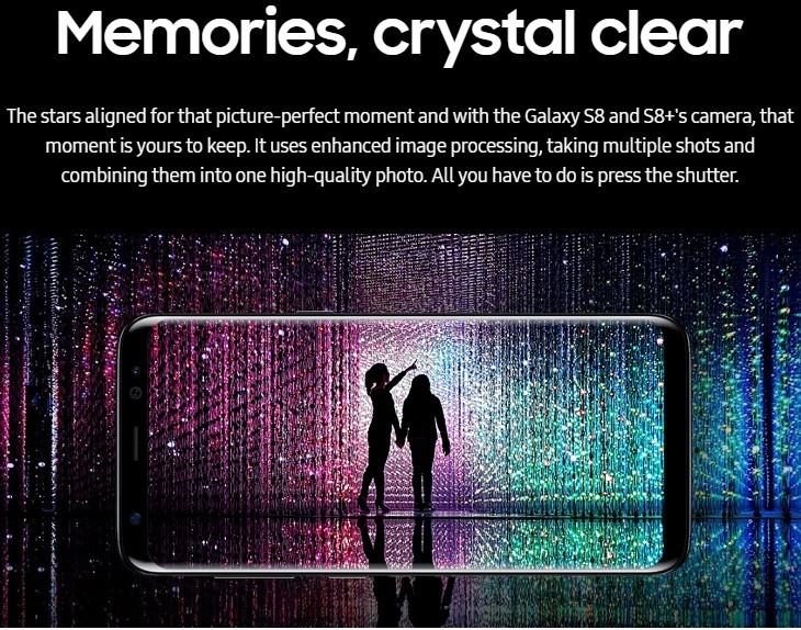 1395ca5529635a20024ff24d6cb88934 Samsung Galaxy S8 5.8 Inch QHD (4GB, 64GB ROM) 12MP + 8MP Dual Sim 4G Smartphone  Orchid Grey (MW18) (FS)