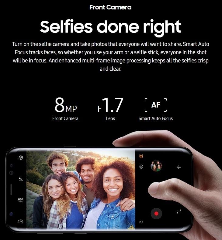 3c9fec63f9e7988de5c55c6bd96f3ae5 Samsung Galaxy S8 5.8 Inch QHD (4GB, 64GB ROM) 12MP + 8MP Dual Sim 4G Smartphone  Orchid Grey (MW18) (FS)