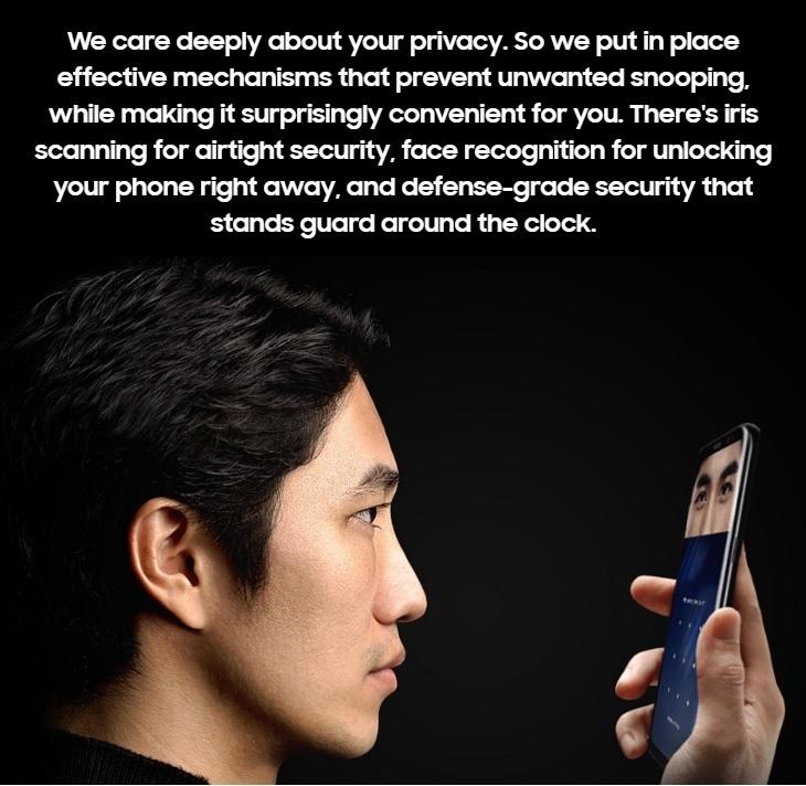 a71d5e589126a85023a2630df41fbe88 Samsung Galaxy S8 5.8 Inch QHD (4GB, 64GB ROM) 12MP + 8MP Dual Sim 4G Smartphone  Orchid Grey (MW18) (FS)