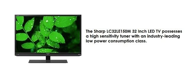 "Sharp 32"" LED TV"