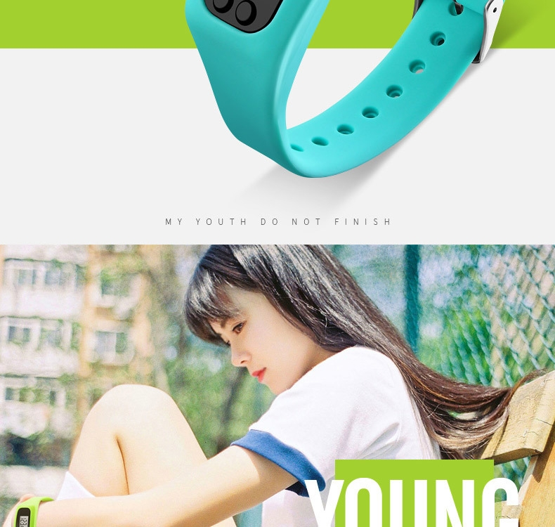 0ec1ca736d0377d0b28081a4dda81527 Skmei Women Fashion Sports Watches Pedometer Calorie Sport Mileage Digital Watch Girl Colorful Silicone Strap Wristwatches (Red
