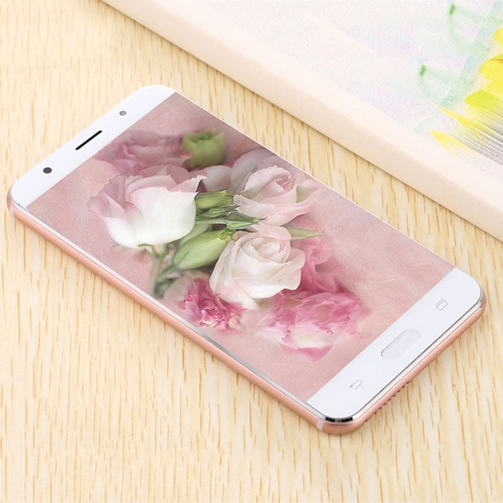 Allwin R9 5.5 Inch Screen Smartphone MTK6580 1+8G Memory For Android 5.1 System rose Gold Nigeria