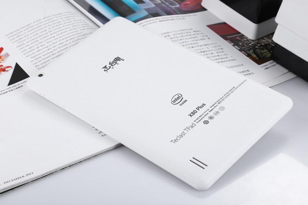 8 inch Teclast X80 Plus Windows 10 + Android 5.1 Tablet PC Intel Atom X5-Z8300 64bit Quad Core 1.44GHz WXGA IPS Screen 2GB RAM 32GB ROM WiFi Bluetooth 4.0 HDMI Functions