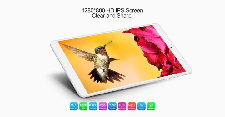 TECLAST P80h   8  Tablet Android 5.1 1GB/8GB OTG HDMI G Sensor EU   White price in Nigeria