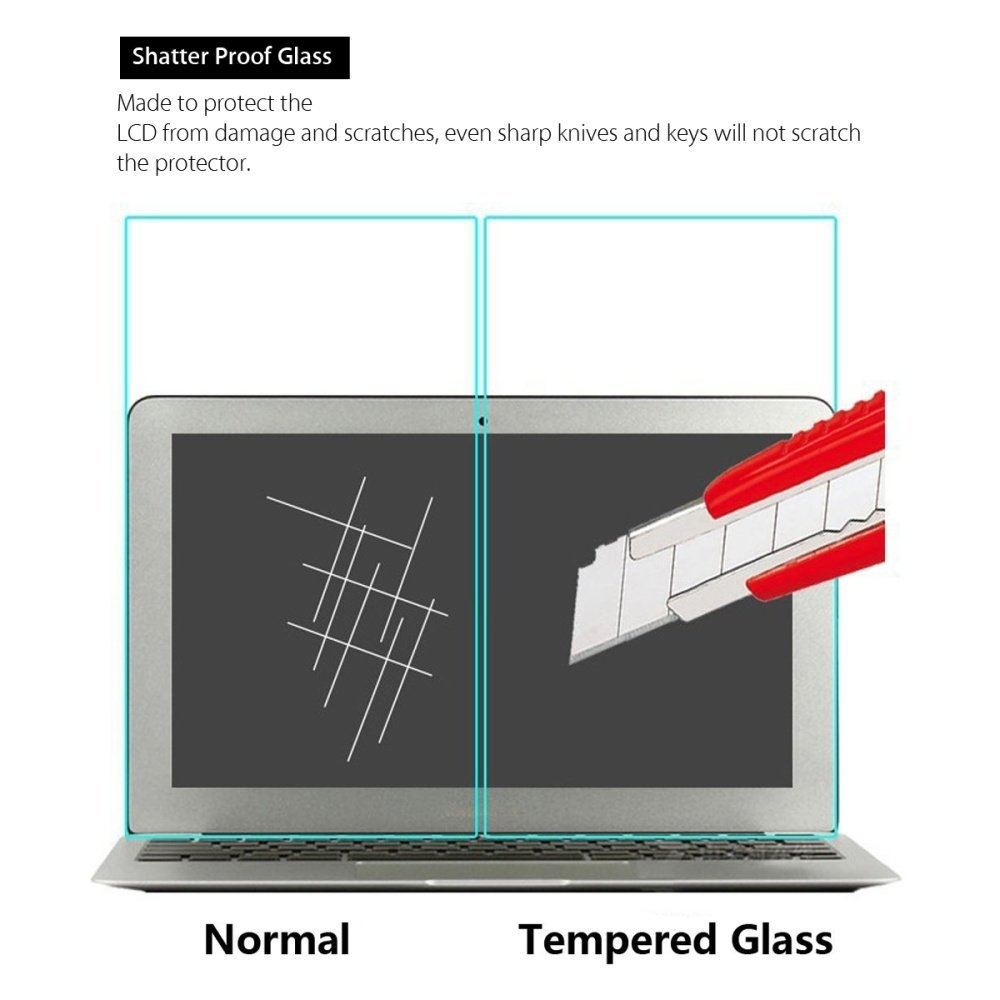 af5b22384215b56a8da86365883acdb5 Universal 9H Tempered Glass Screen Protector For 2016 NEW Macbook Pro 13/ Touch Bar 13