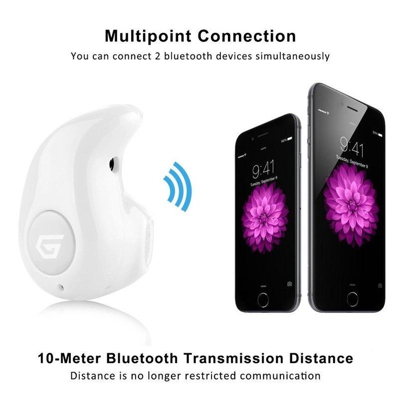 Universal Bluetooth 4.0 Wireless Headphone Headset Mini Invisible Earpiece Ultra small S530 Earphone   White price in nigeria