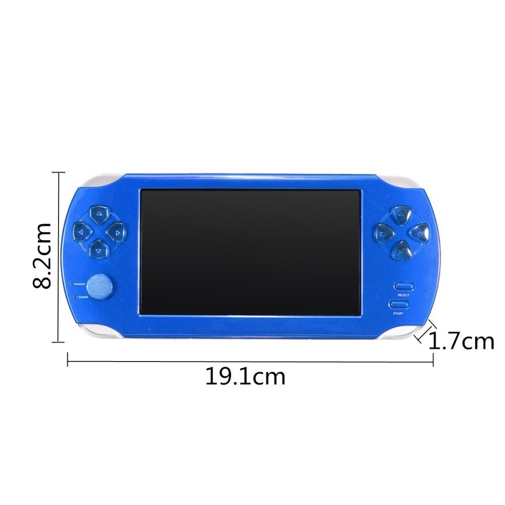 ac3645909bb5e7fa31cd0d042f1aa607 Universal A15 Rechargeable 5.0 8G Handheld Video Game Console MP4/MP5 Player With Camera Red