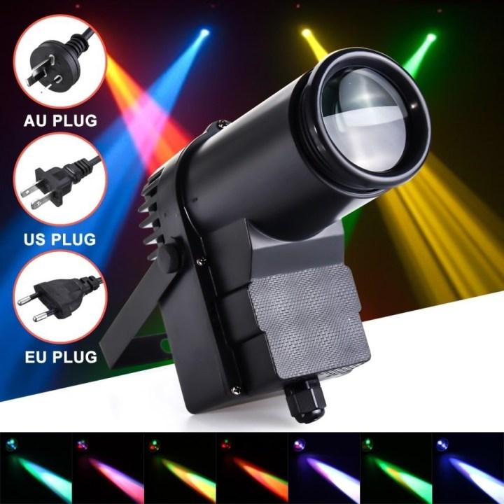 Universal 30W RGBW LED DMX512 Stage Lighting Pinspot Beam Spotlight 6CH DJ DISCO Party KTV EU price in Nigeria