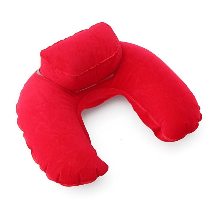 Universal U Shaped Soft Inflatable Travel Pillow Neck Support Car Seat Head Rest Cushion Red price in Nigeria