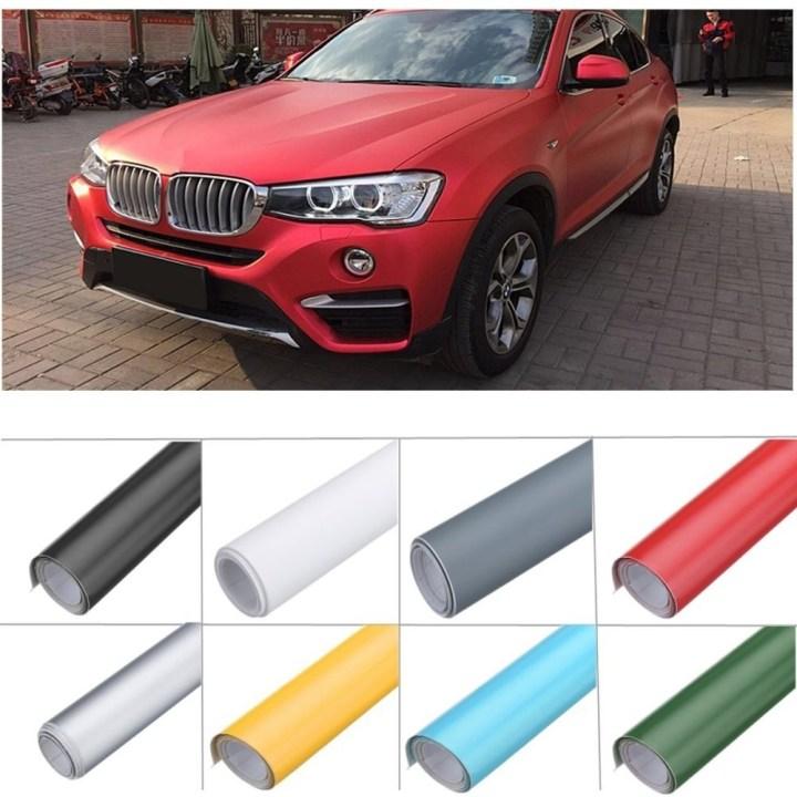 Universal 13 Color Premium Matte Flat Auto Car Vinyl Wrap Sticker Decal Bubble Air Release (Black) price in Nigeria