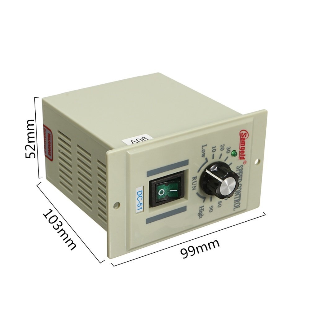 Universal AC 110V Rotary Knob Voltage Speed Controller DC Motor Variable DC0 90V price in nigeria
