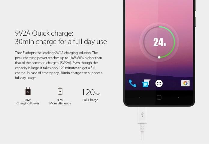 Vernee Thor E   5.0 4G Smartphone   Android 7.0 3GB/16GB   G Sensor P Sensor EU   Grey price in nigeria