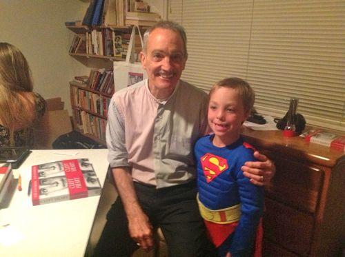Noah and Karl superman cape