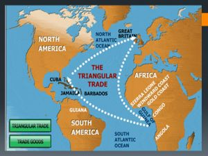 Map for understanding white privilege - the Middle Passage.
