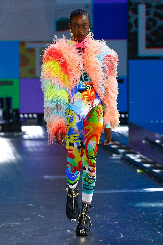 Dolce & Gabbana: Dolce & Gabbana Fall Winter 2021-22 Fashion Show Photo #18