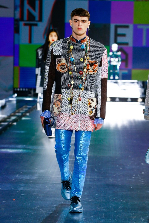 Dolce & Gabbana: Dolce & Gabbana Fall Winter 2021-22 Fashion Show Photo #39