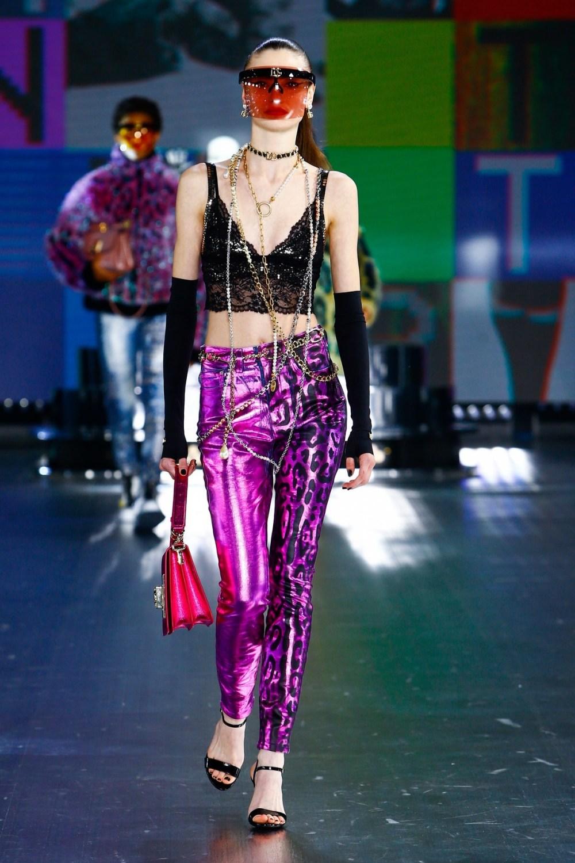 Dolce & Gabbana: Dolce & Gabbana Fall Winter 2021-22 Fashion Show Photo #50