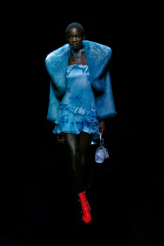 Blumarine: Blumarine Fall Winter 2021-22 Fashion Show Photo #23