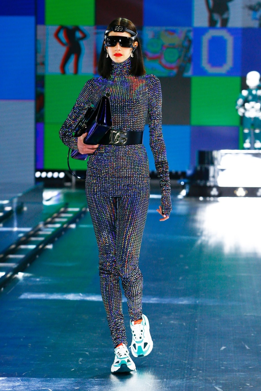 Dolce & Gabbana: Dolce & Gabbana Fall Winter 2021-22 Fashion Show Photo #35