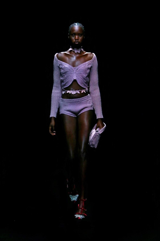 Blumarine: Blumarine Fall Winter 2021-22 Fashion Show Photo #42