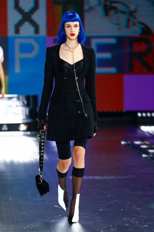 Dolce & Gabbana: Dolce & Gabbana Fall Winter 2021-22 Fashion Show Photo #30