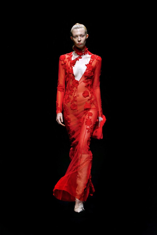 Blumarine: Blumarine Fall Winter 2021-22 Fashion Show Photo #47