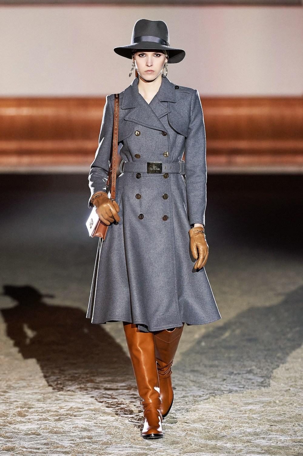 Elisabetta Franchi: Elisabetta Franchi Fall Winter 2021-22 Fashion Show Photo #17