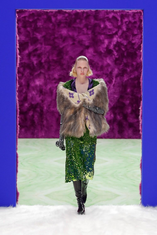 Prada: Prada Fall Winter 2021-22 Fashion Show Photo #32