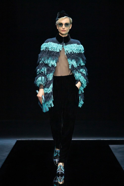 Armani: Giorgio Armani Fall Winter 2021-22 Fashion Show Photo #9