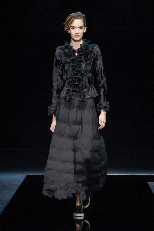 Armani: Giorgio Armani Fall Winter 2021-22 Fashion Show Photo #33