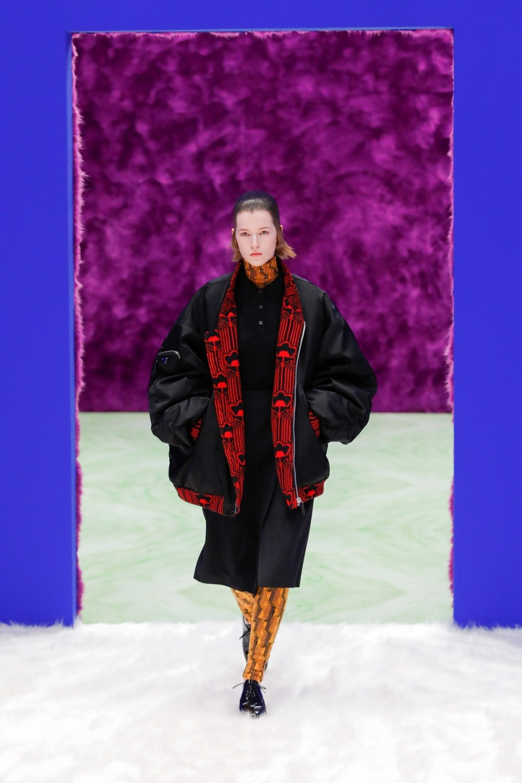 Prada: Prada Fall Winter 2021-22 Fashion Show Photo #21