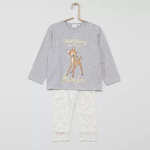 ensemble pyjama bambi de disney