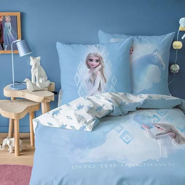 parure de lit 1 personne la reine des neiges