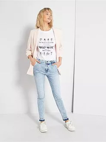 Jeans skinny con orlo dégradé - Kiabi