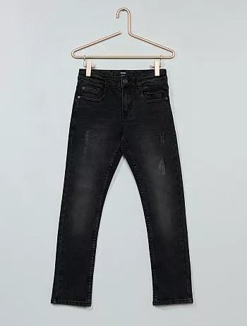 Jeans slim effetto delavé - Kiabi
