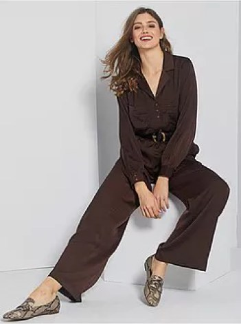 Pantaloni satinati - Kiabi