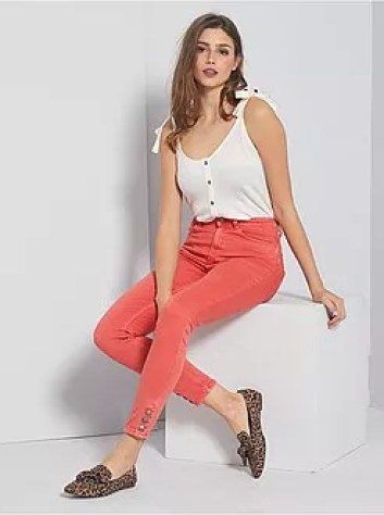 Pantaloni skinny colorati - Kiabi