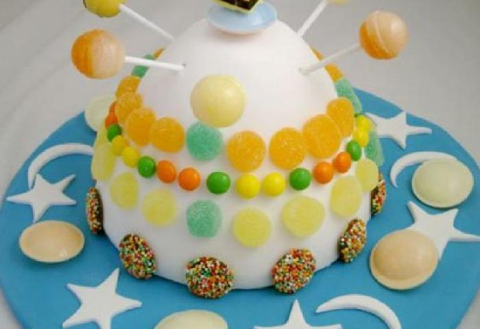 Spaceship Birthday Cake Kidspot