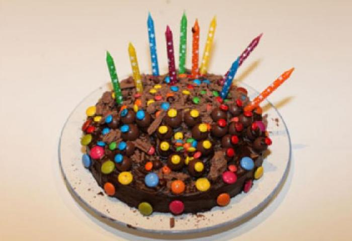 Easy Lolly Birthday Cake Recipe Kidspot