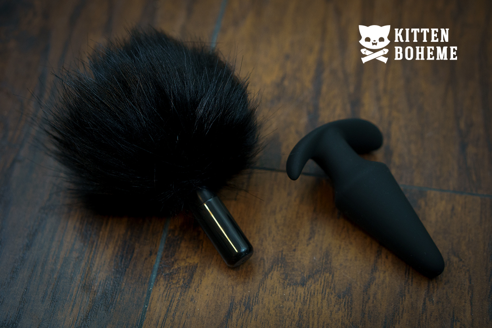 Blush Novelties Pom Plug Silicone Bunny Tail Butt Plug