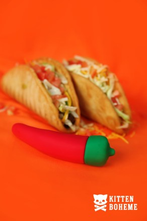 Emojibator Chili Pepper Silicone Vibrator