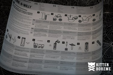 Clone-A-Willy Glow in the Dark Kit Instructions