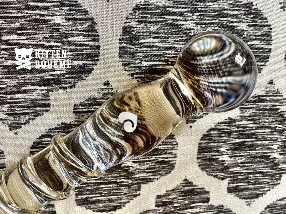 Sensual Glass Textured Dildo Lovehoney Logo