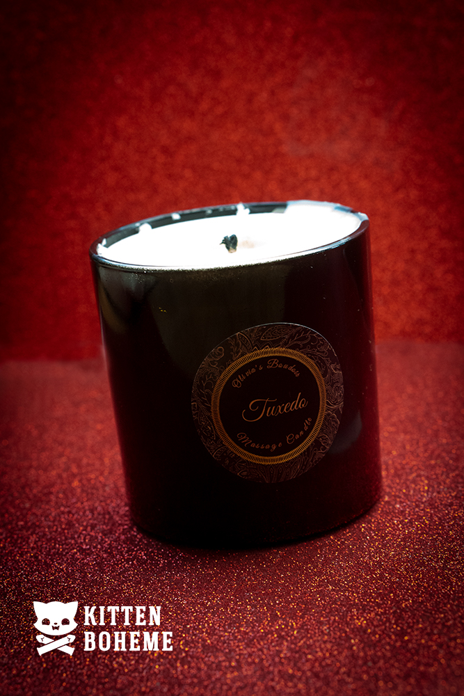 Olivia's Boudoir Tuxedo Luxury Massage Candle