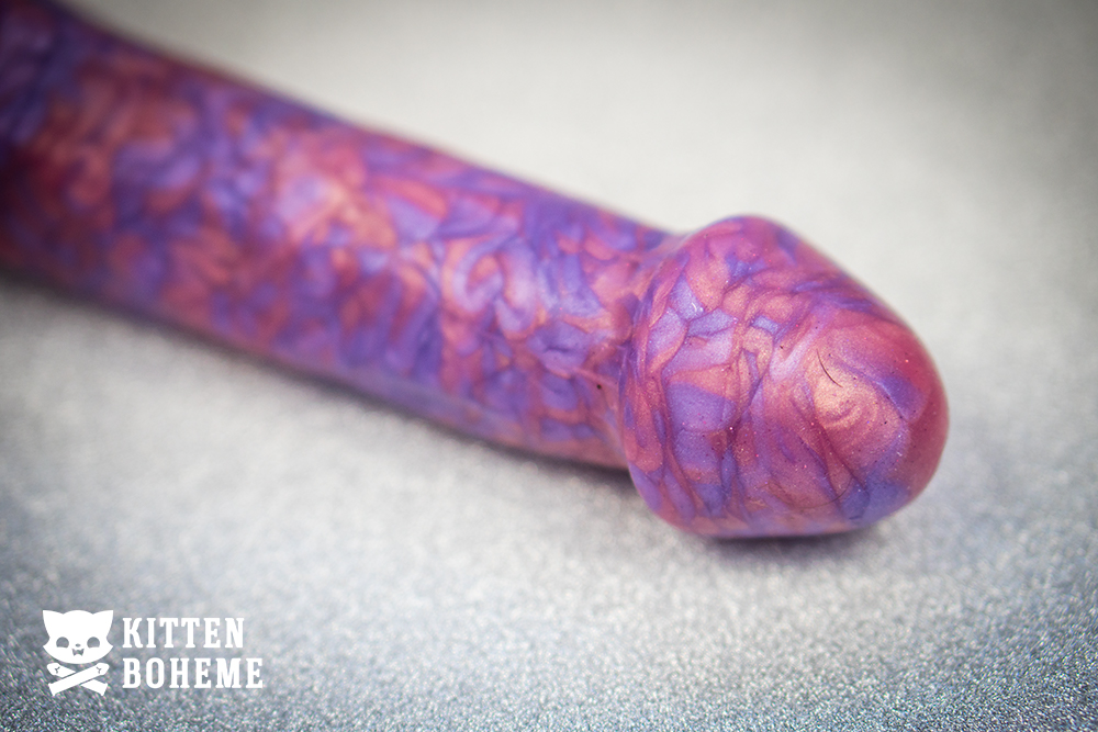 Uberrime Maestro Silicone Suction Cup Dildo Head Detail