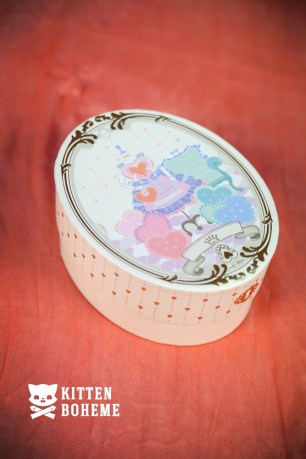Zalo Baby Heart French Boudoir Packaging Box